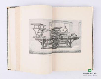 MONET A.L - Les Machines et appareils typographiques...