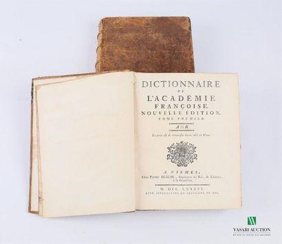 [DICTIONNAIRE - ACADEMIE] Collectif - Dictionnaire...