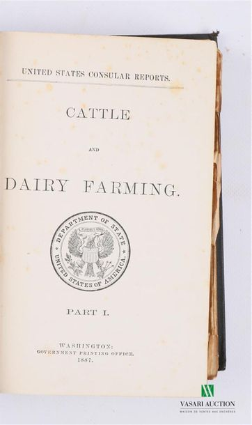 COLLECTIF - Cattle and Dairy Farming - Washington...