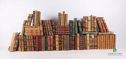 [LITTERATURE] Important lot de livres reliés...