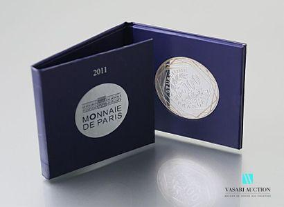 MONNAIE DE PARIS Pièce en argent 900°/00...
