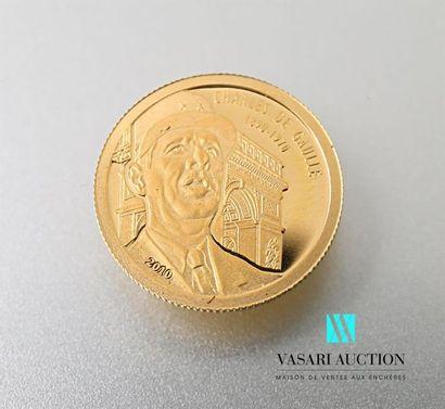 BENIN Une pièce de 1500 francs CFA - Charles...