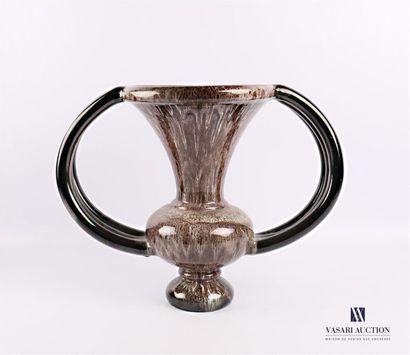 GIUGE Marius (1909-1980)   Vase en faïence...