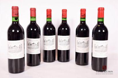 6 bouteillesChâteau LE BOURDIEUHaut Médoc...