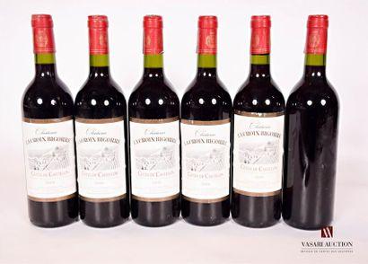 6 bouteillesChâteau LA CROIX BIGORRECôtes...