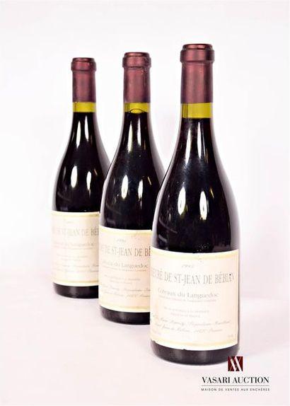 3 bouteillesCÔTEAUX DU LANGUEDOC
