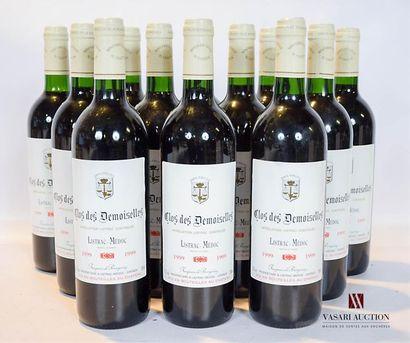 12 bouteillesCLOS DES DEMOISELLESListrac...