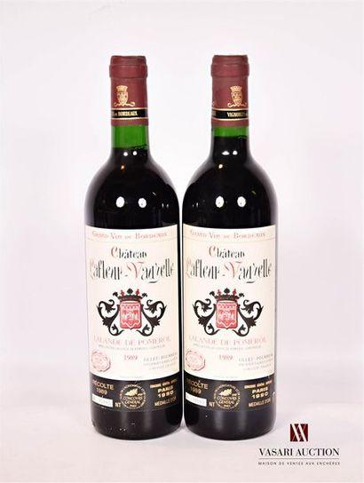 2 bouteillesChâteau LAFLEUR VAUZELLELalande...