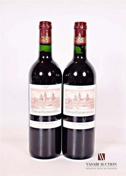 2 bouteillesChâteau COS D'ESTOURNELSt Estèphe...