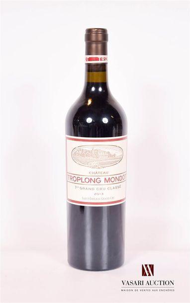 1 bouteilleChâteau TROPLONG MONDOTSt Emilion...