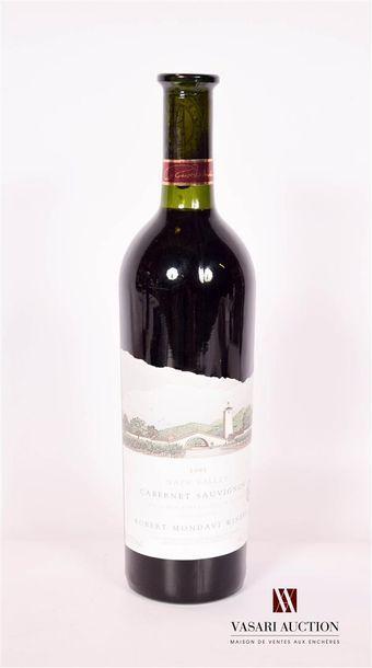 1 bouteilleCABERNET SAUVIGNON (Napa Valley)...