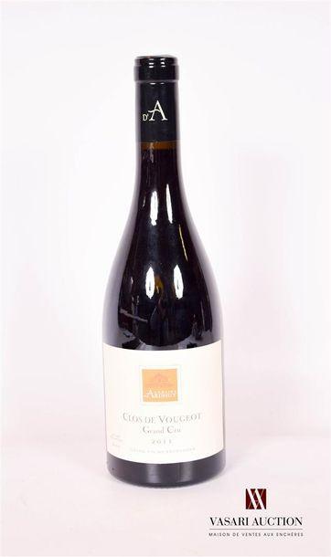 1 bouteilleCLOS DE VOUGEOT GC mise Dom....