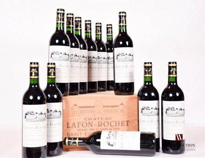 12 bouteillesChâteau LAFON ROCHETSt Estèphe...
