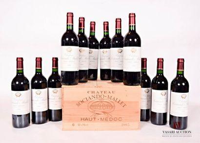 12 bouteillesChâteau SOCIANDO MALLETHaut...