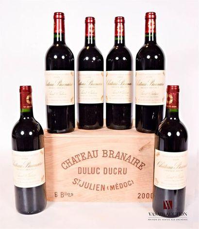 6 bouteillesChâteau BRANAIRE DUCRUSt Julien...