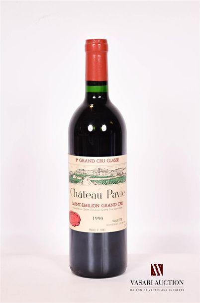 1 bouteilleChâteau PAVIESt Emilion 1er...