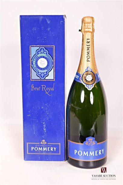 1 magnumChampagne POMMERY Brut RoyalNM...