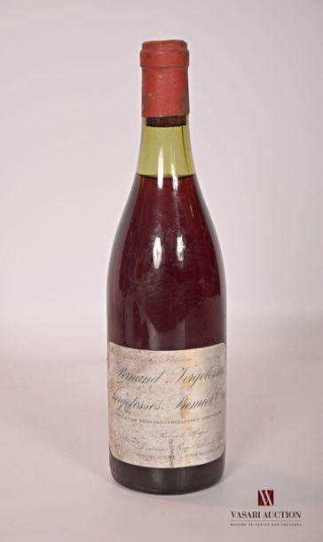 1 bouteillePERNAND VERGELESSES 1er Cru Vergelesses...