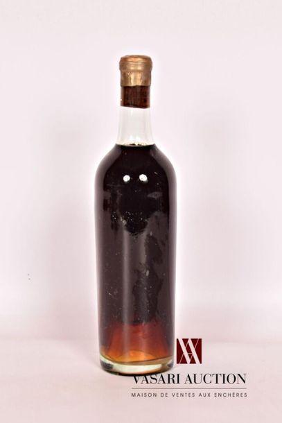 1 bouteilleChâteau SIGALAS RABAUDSauternes...