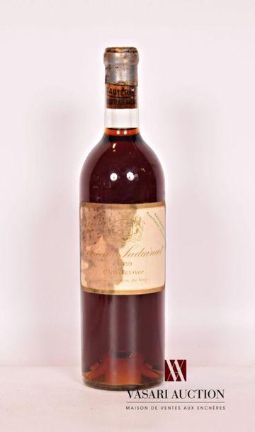 1 bouteilleCH. SUDUIRAUTSauternes 1er GCC1959...