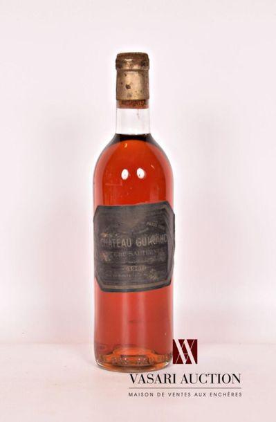 1 bouteilleChâteau GUIRAUDSauternes 1er...