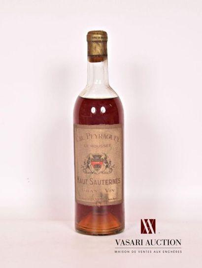 1 bouteilleCRU PEYRAGUEY