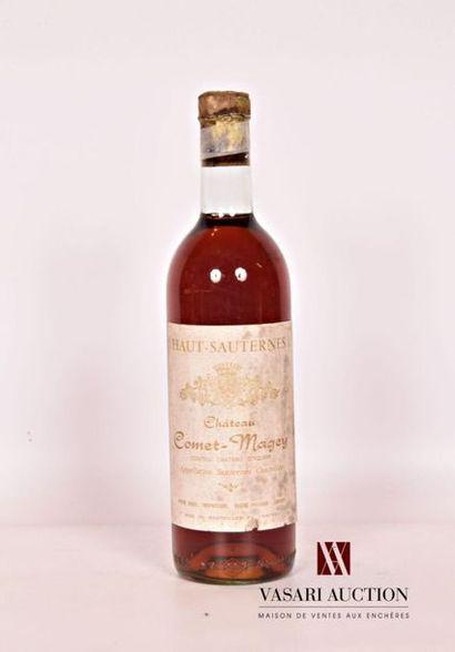 1 bouteilleChâteau COMET-MAGEYHaut Sauternes1962...