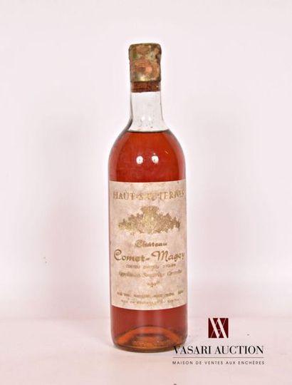 1 bouteilleChâteau COMET-MAGEYHaut Sauternes1967...