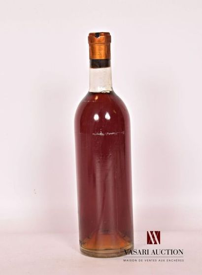 1 bouteilleChâteau HAUT BERGERONSauternes1961...