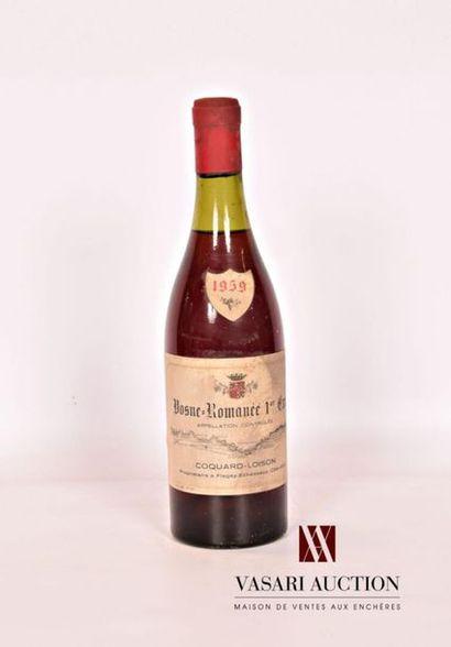 1 bouteilleVOSNE ROMANÉE 1er Cru mise Coquard...