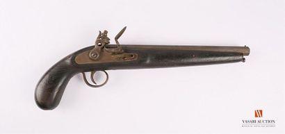 Pistolet d'arçon, platine à silex, canon...