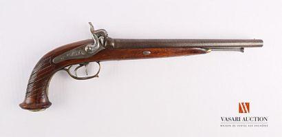 Pistolet de vénerie à percussion, canons...