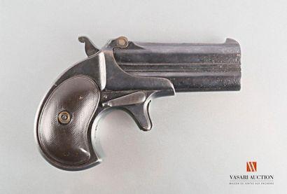 Pistolet à double canon système DERRINGER,...