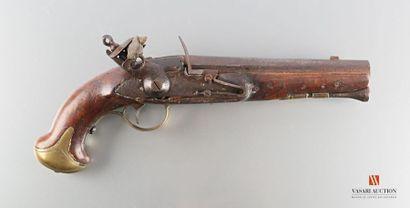 Pistolet de demi arçon, canon à pans puis...