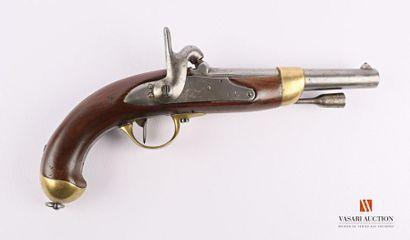 Pistolet règlementaire modèle 1822 T bis,...