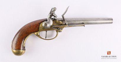 Pistolet réglementaire modèle 1777, à silex,...