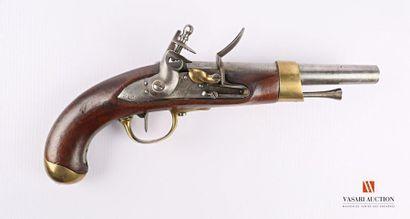 Pistolet règlementaire modèle AN 13, platine...