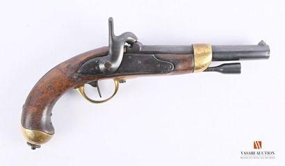Pistolet réglementaire modèle 1822 T bis,...