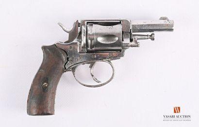 Revolver de poche double action, canon octogonal...