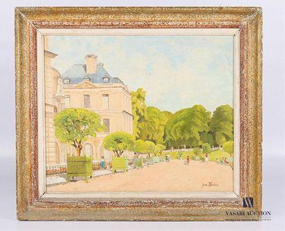 VOUAUX Jean (XXème siècle) Le Palais du Luxembourg...