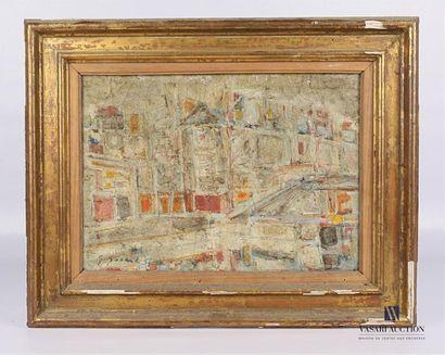 GODARD Gabriel (né en 1933) Canal Saint Martin...