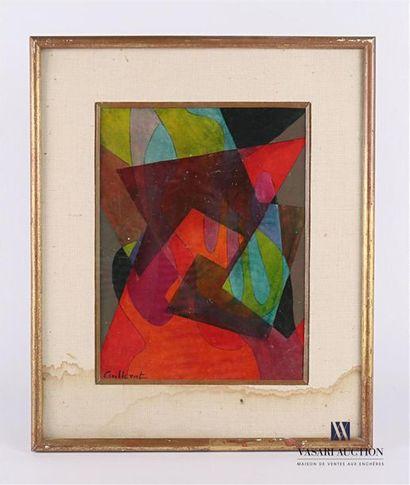 CUILLERAT Jean (1927-1998) Composition abstraite...