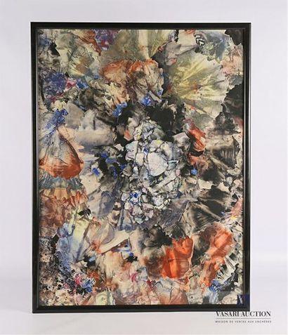 SAINT MARTIN Marcel (1922-2010) Composition...
