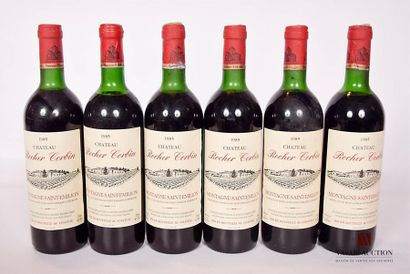 6 bouteillesChâteau ROCHER CORBINMontagne...