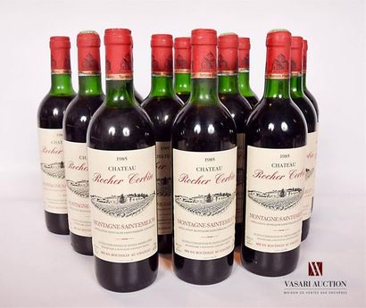 12 bouteillesChâteau ROCHER CORBINMontagne...