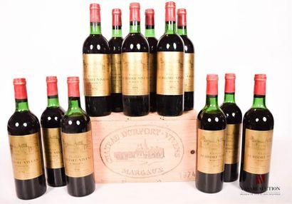 12 bouteillesChâteau DURFORT VIVENSMargaux...