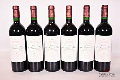 6 bouteillesChâteau LES REMPARTS FIGEACSt...