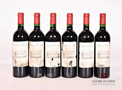 6 bouteillesChâteau CONDATSt Emilion GC2003...