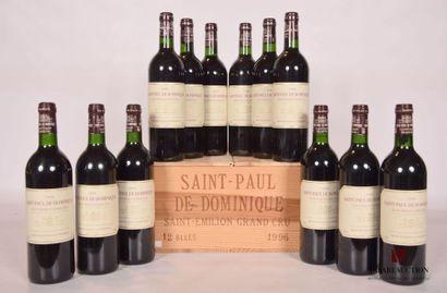 12 bouteillesSAINT PAUL DE DOMINIQUESt...