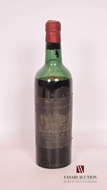 1 bouteilleChâteau D'ISSANMargaux GCC1955...